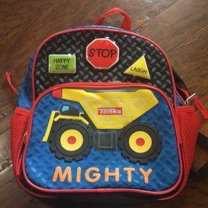 Tonka truck boys backpack